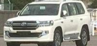 Стала известна «внешность» Toyota Land Cruiser 200 2020 года