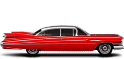 Cadillac DeVille 6-window Sedan 1959-1960