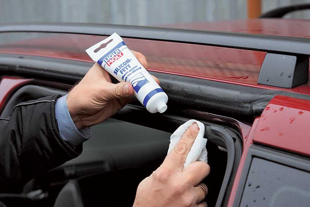 какие места в машине нужно регулярно смазывать